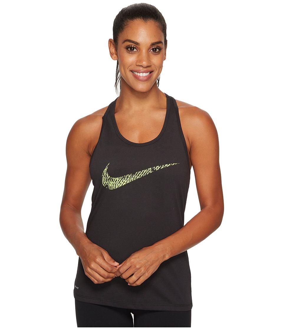 Nike - Dry Soccer Tank (Dark Grey Heather) Women's Sleeveless