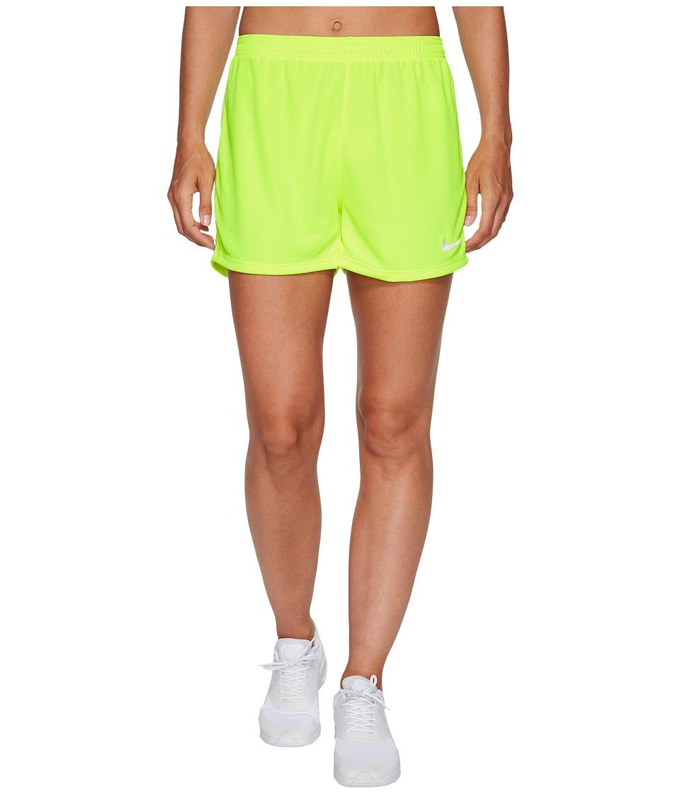 Nike - Dry Academy Soccer Short (Volt/White/White) Women's Shorts