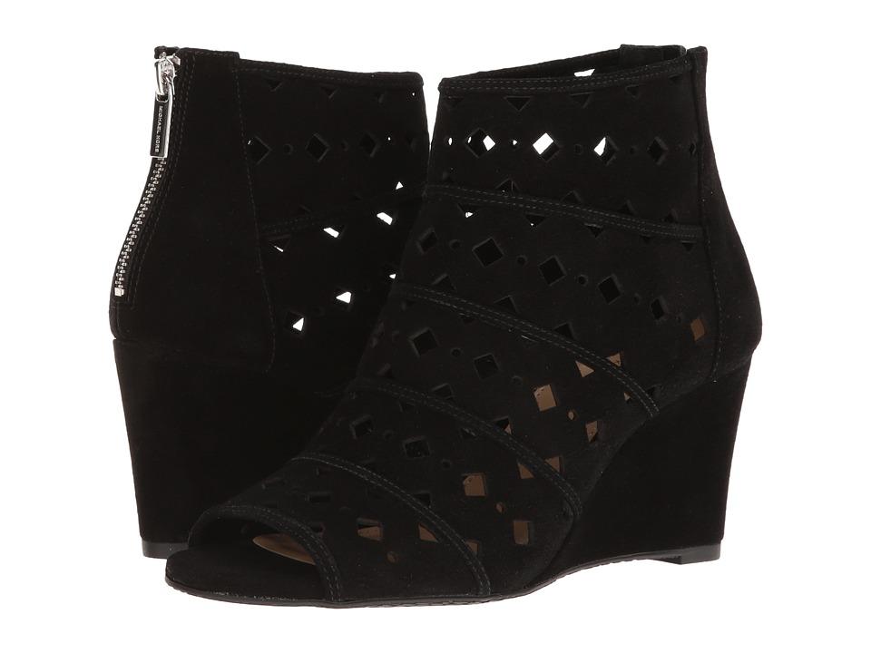 MICHAEL Michael Kors - Uma Wedge (Black) Women's Wedge Shoes