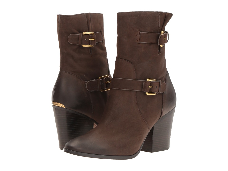 MICHAEL Michael Kors Ashton Mid Bootie (Coffee) Women