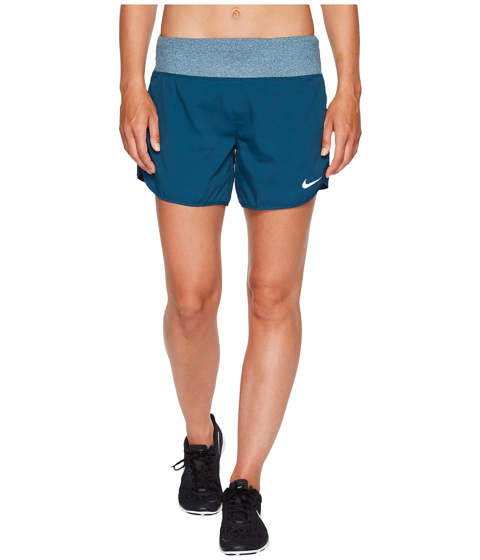 Nike - Flex 5 Running Short (Space Blue) Women's Shorts