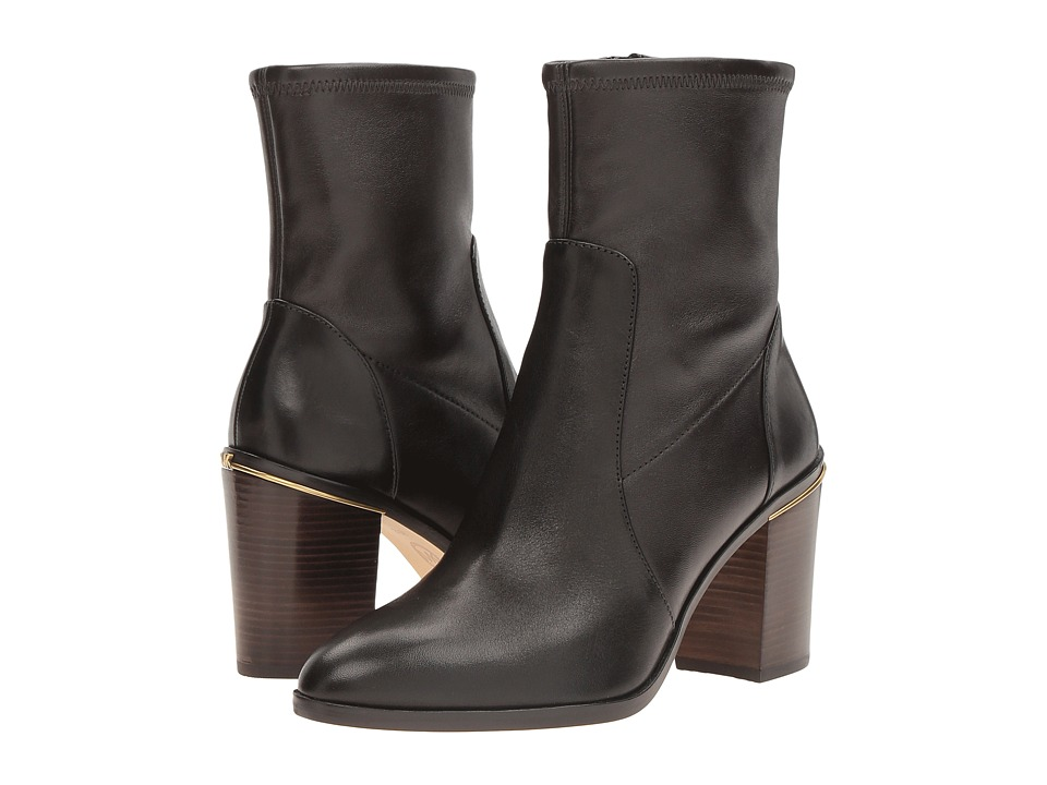 MICHAEL Michael Kors Chase Ankle Boot (Dark Brown) Women