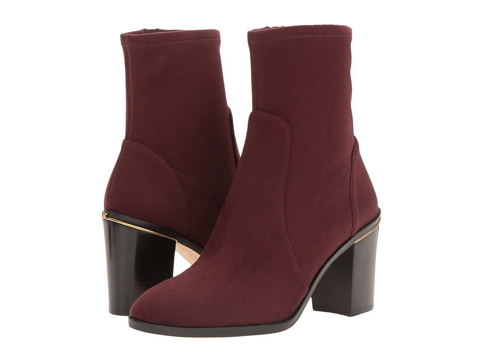 MICHAEL Michael Kors Chase Ankle Boot (Plum) Women
