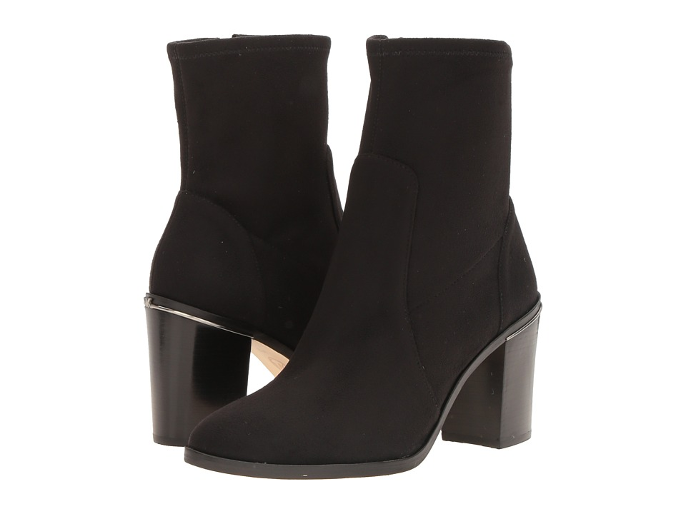 MICHAEL Michael Kors Chase Ankle Boot (Black) Women