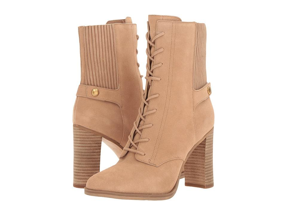 Michael Kors Carrigan Bootie (Dark Khaki) Women's Boots