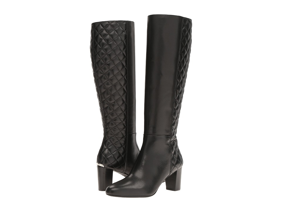 MICHAEL Michael Kors - Lucy Quilted Boot (Black) Women's Boots