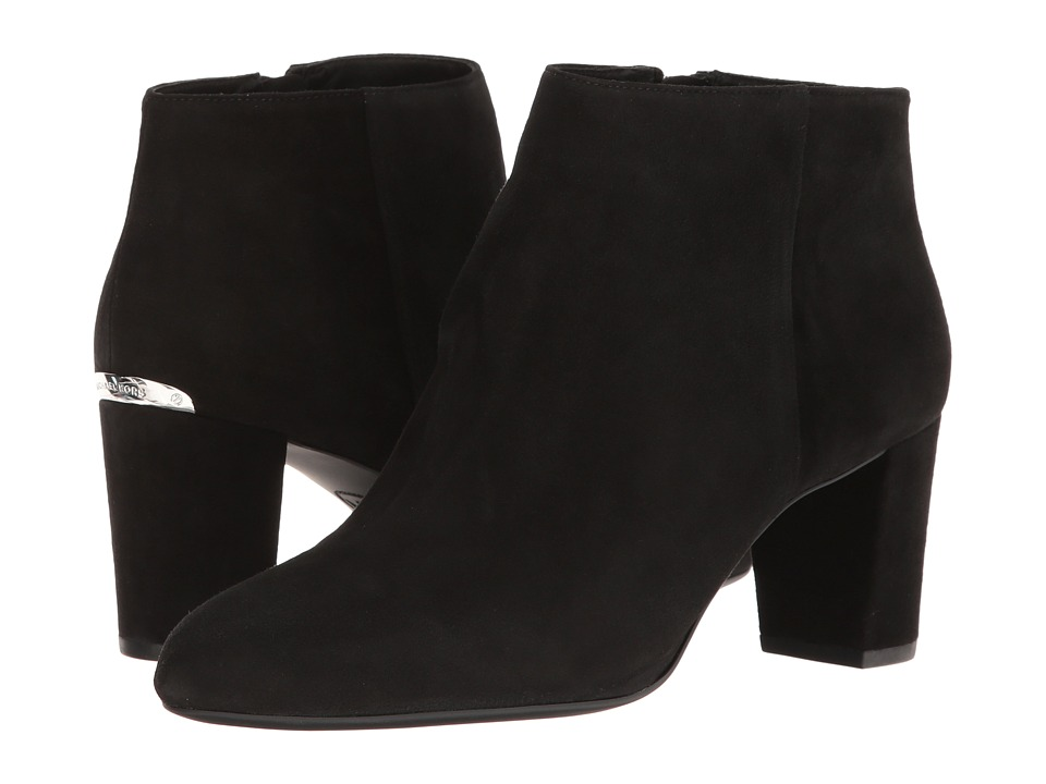 MICHAEL Michael Kors Lucy Ankle Boot (Black) Women