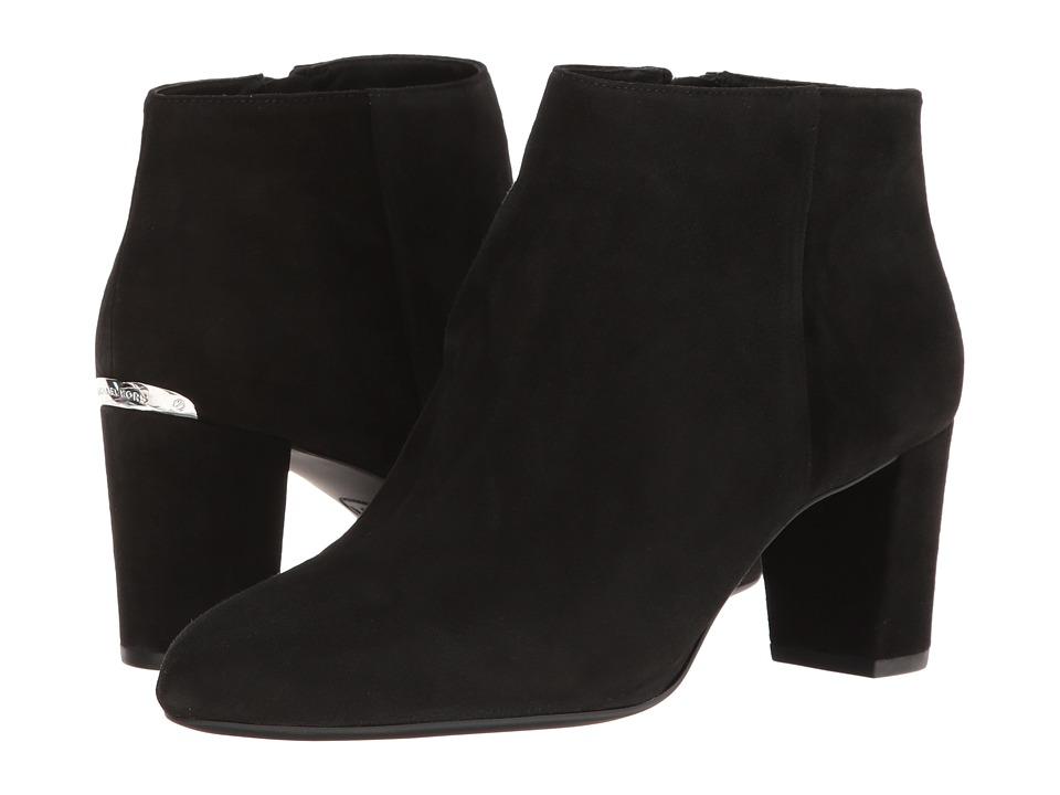 MICHAEL Michael Kors Lucy Ankle Boot (Black) Women