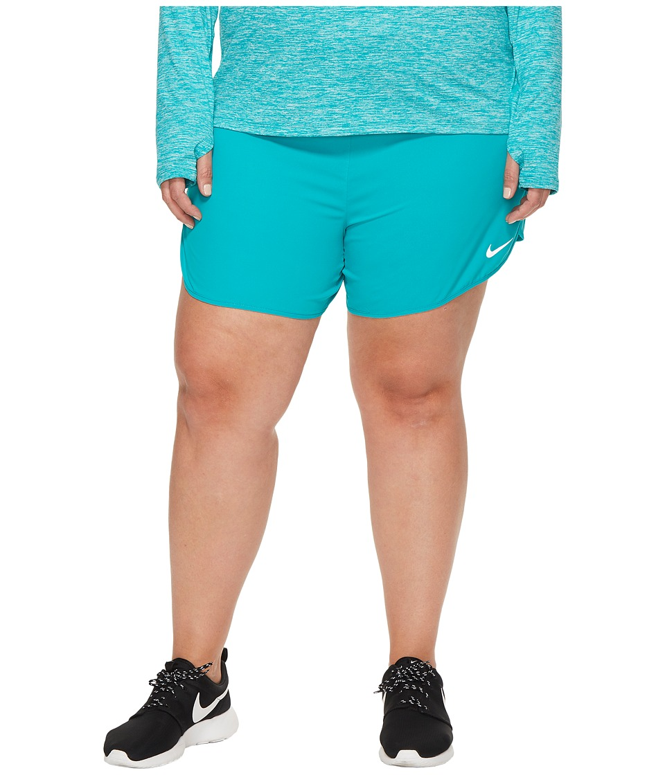 Nike Flex 5 Running Short (Size 1X-3X) (Turbo Green) Women