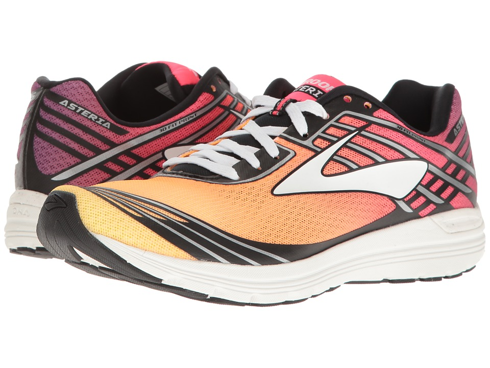 Brooks - Asteria (Plum Caspia/Diva Pink/Orange Pop) Women's Running Shoes