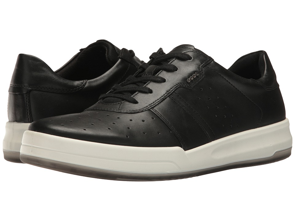 ECCO - Jack Retro Sneaker (Black) Men's Shoes