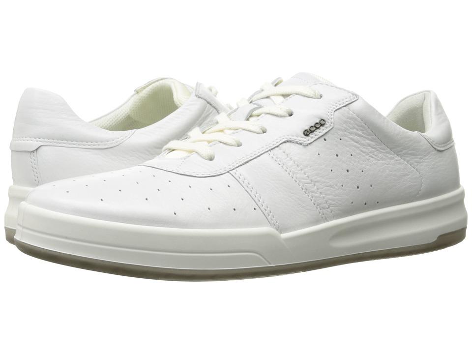 ECCO - Jack Retro Sneaker (Bright White) Men's Shoes