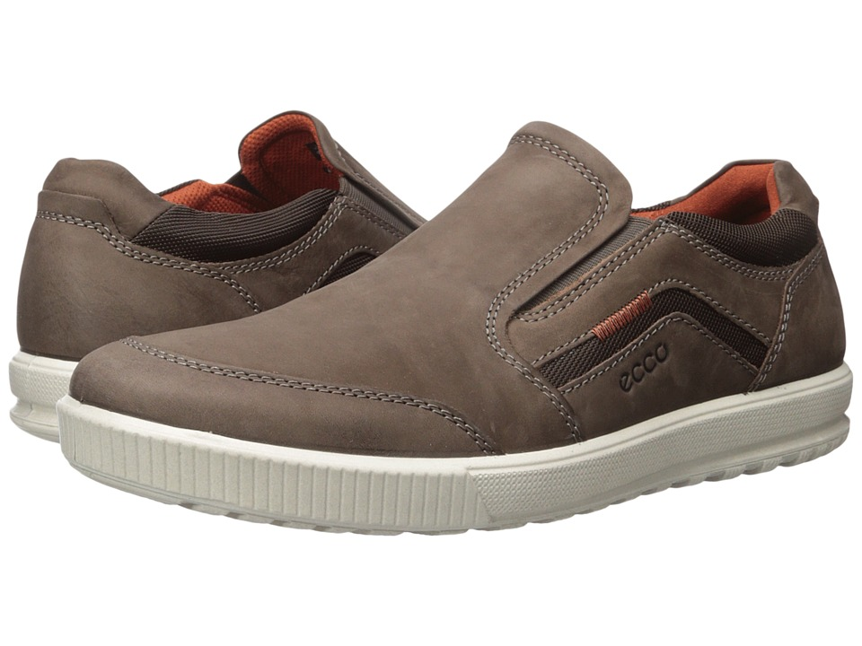 ECCO - Ennio Modern Slip On (Coffee) Men's Shoes