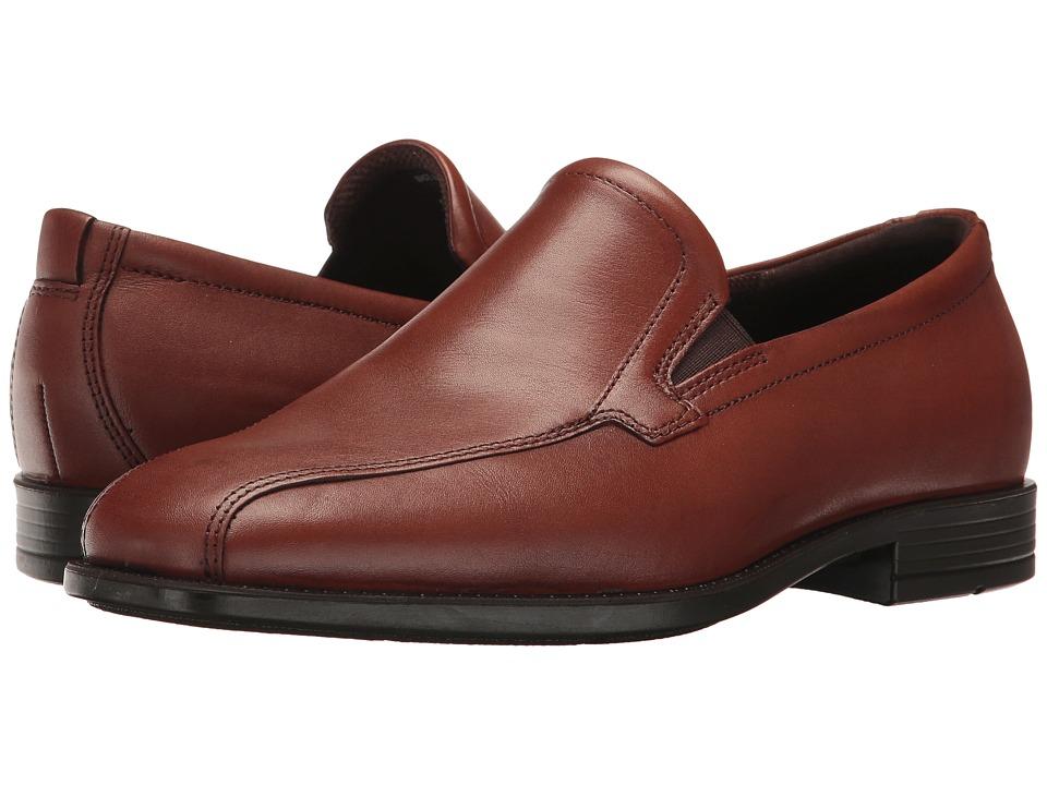ECCO - Edinburgh Modern Slip On (Cognac) Men's Shoes