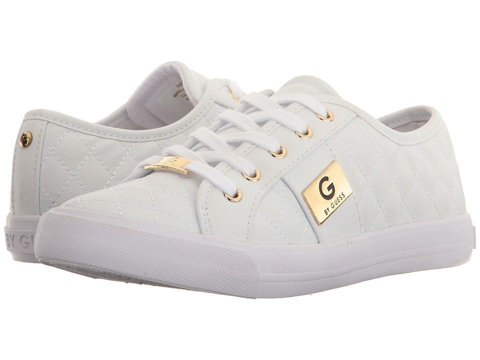 G by GUESS - Oadie (White) Women's Lace up casual Shoes