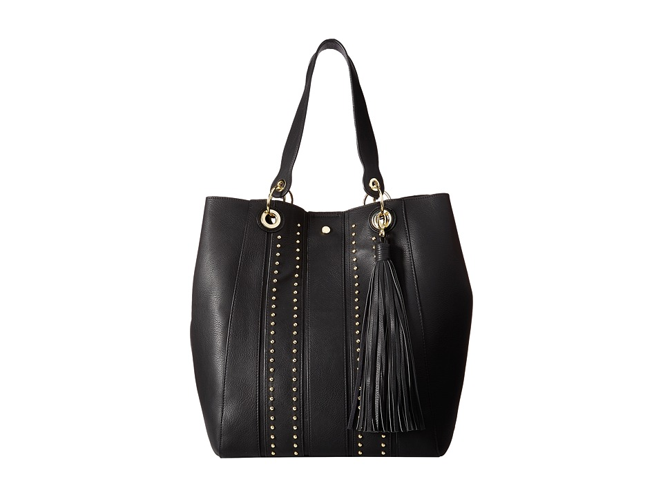 Steve Madden - Bwilde Overlays Tote (Black) Tote Handbags
