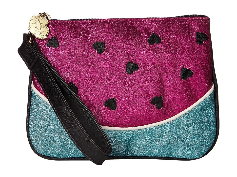 Luv Betsey - LBMel Kitch Wristlet (Fuchsia) Wristlet Handbags