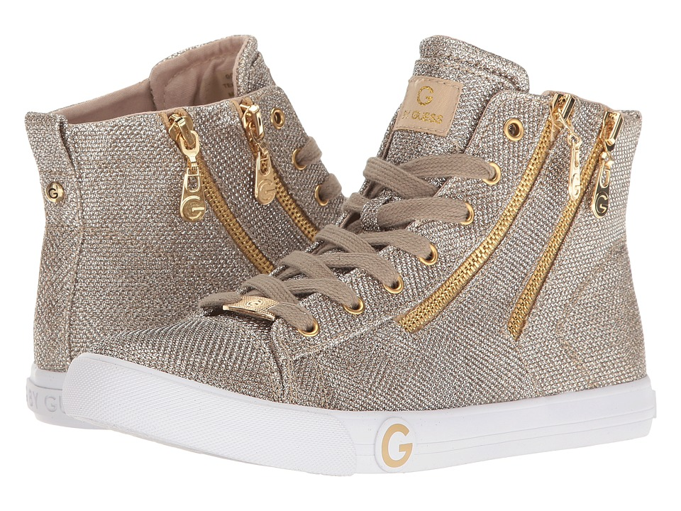 G by GUESS - Oleesa (Gold) Women's Lace up casual Shoes