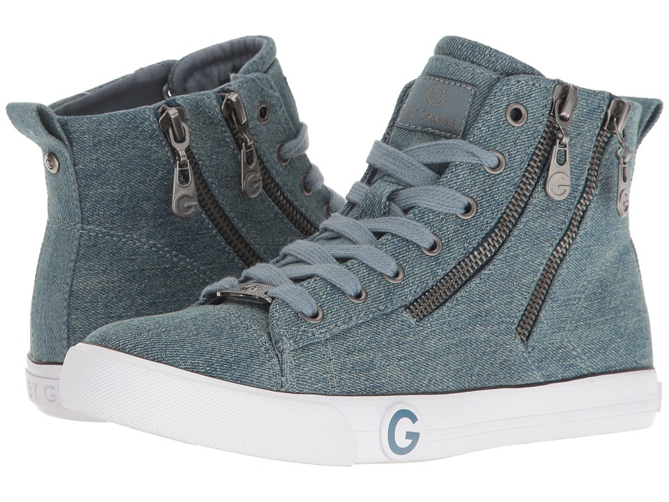 G by GUESS - Oleesa (Blue) Women's Lace up casual Shoes