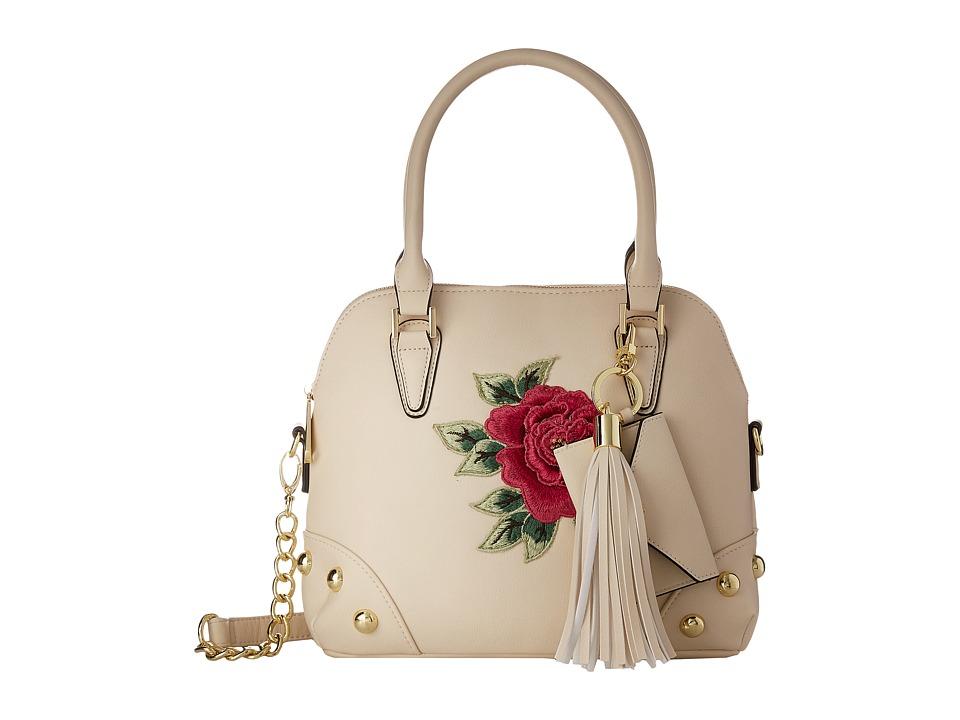 Steve Madden - Bhelena Rose Satchel (Bone) Satchel Handbags