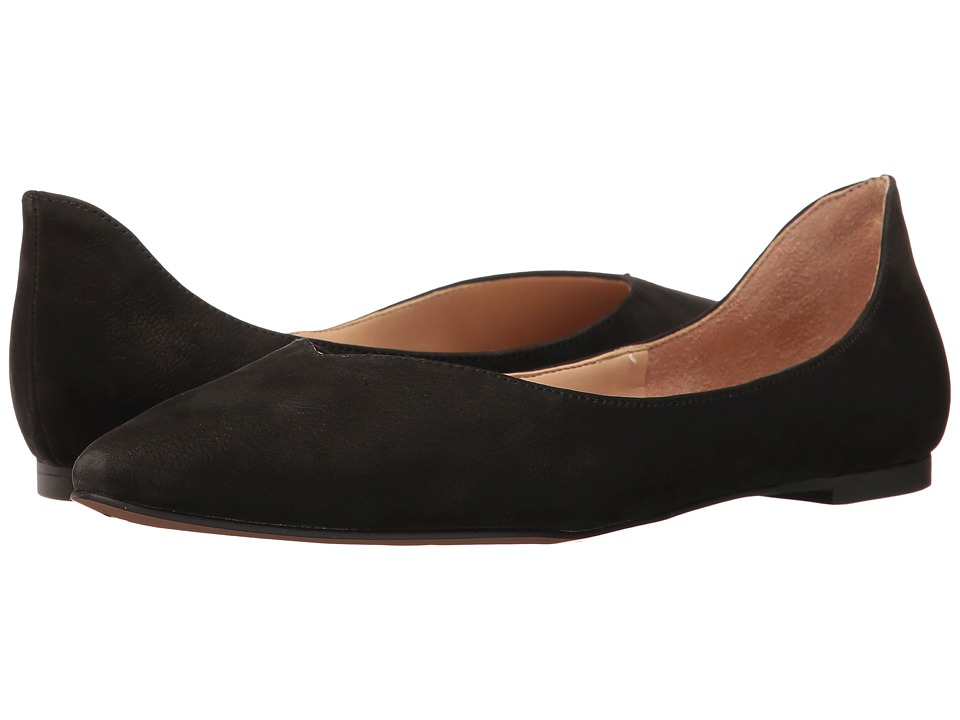 Franco Sarto - Shimmy (Black Leather) Women's Slip on Shoes