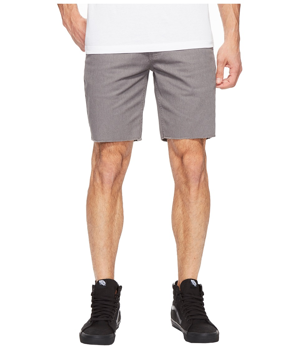 Brixton - Toil II Short (Heather Grey) Men's Shorts