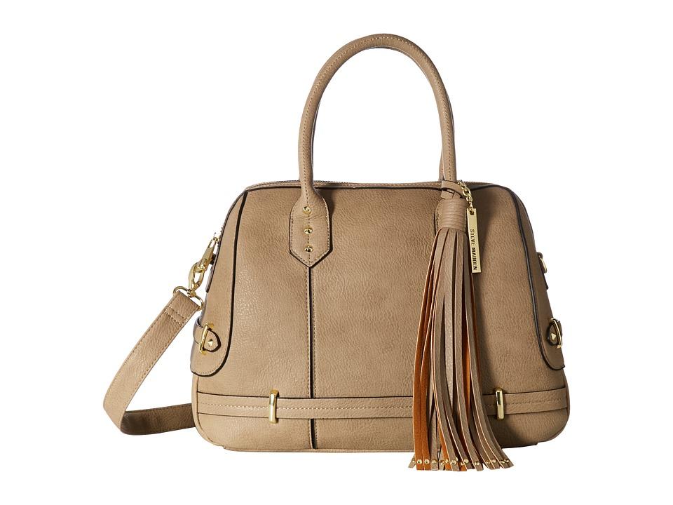 Steve Madden - Bdunn Satchel (Stone) Satchel Handbags