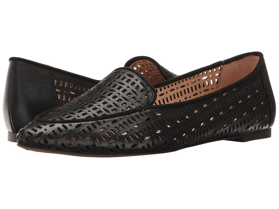 Franco Sarto - Soho (Black Polly Lux Leather) Women's Slip on Shoes