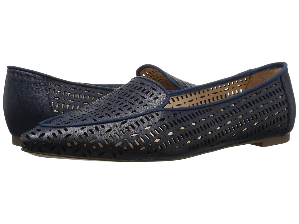 Franco Sarto - Soho (Lapis Blue Polly Lux Leather) Women's Slip on Shoes