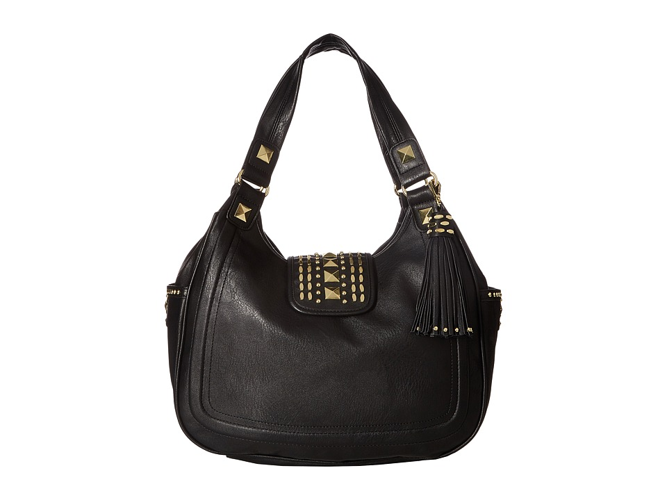 Steve Madden - Bbrandie 4 Poster Shopper (Black) Handbags