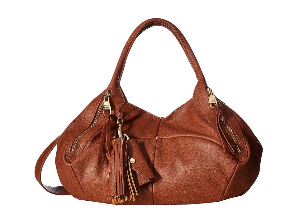 Steve Madden - Bvivenn Satchel (Cognac) Satchel Handbags