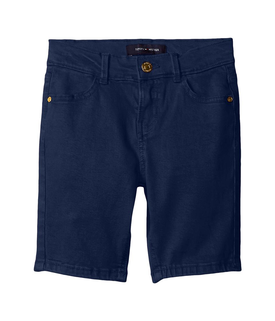 Tommy Hilfiger Kids - Classic Bermuda Shorts (Toddler) (Flag Blue) Girl's Shorts
