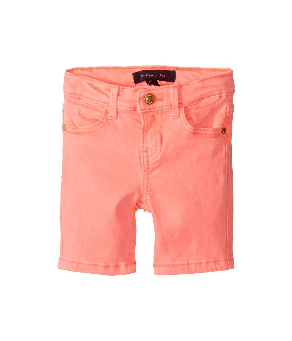Tommy Hilfiger Kids - Classic Bermuda Shorts (Toddler) (Jolt Pink Neon) Girl's Shorts
