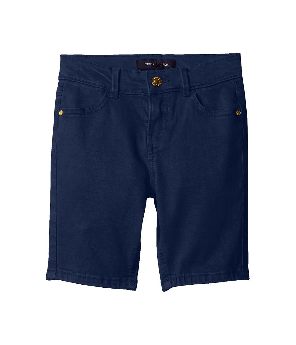 Tommy Hilfiger Kids - Classic Bermuda Shorts (Little Kids) (Flag Blue) Girl's Shorts