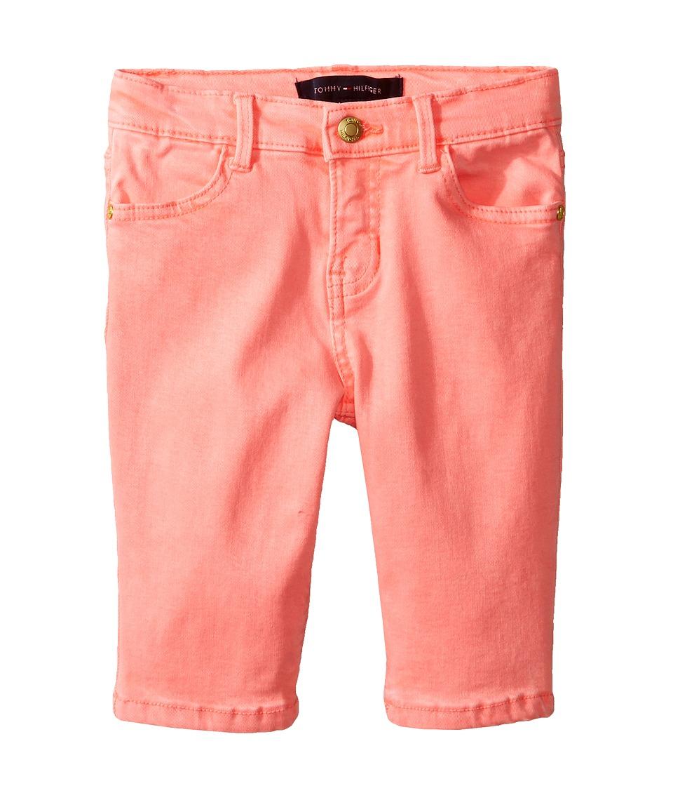 Tommy Hilfiger Kids - Classic Bermuda Shorts (Little Kids) (Jolt Pink Neon) Girl's Shorts