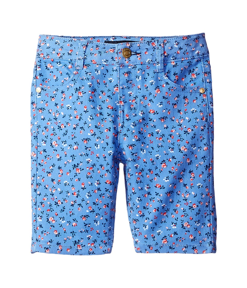 Tommy Hilfiger Kids - Printed Bermuda Shorts (Little Kids) (Mild Periwinkle) Girl's Shorts