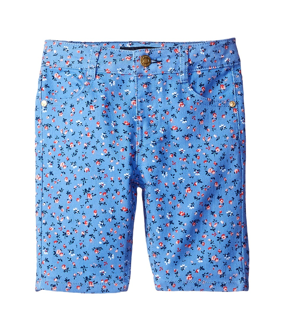 Tommy Hilfiger Kids - Printed Bermuda Shorts (Little Kids/Big Kids) (Mild Periwinkle) Girl's Shorts