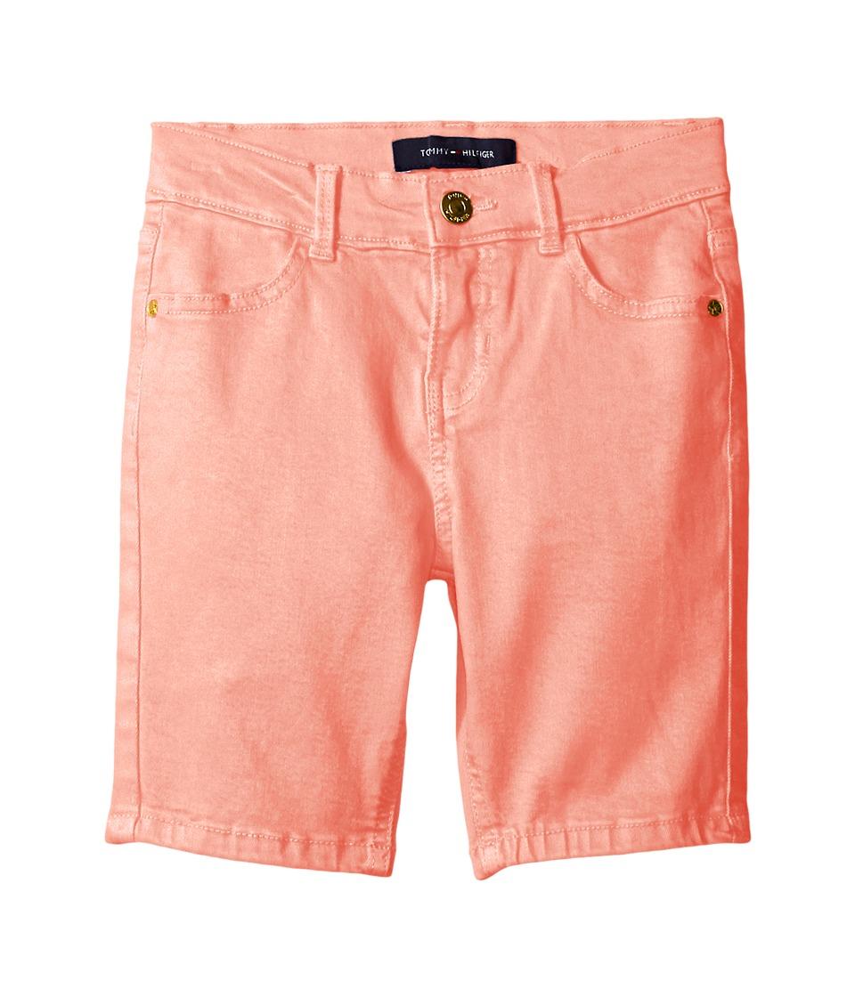 Tommy Hilfiger Kids - Classic Bermuda Shorts (Little Kids/Big Kids) (Jolt Pink Neon) Girl's Shorts