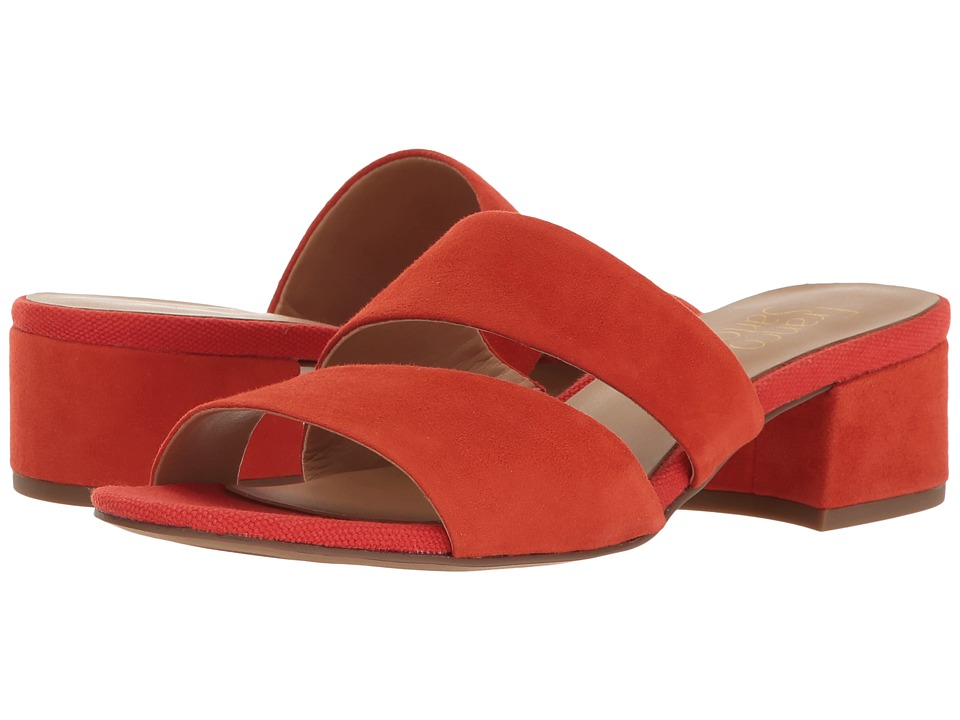 Franco Sarto - Tallen (Orange Diva Suede) Women's Sandals