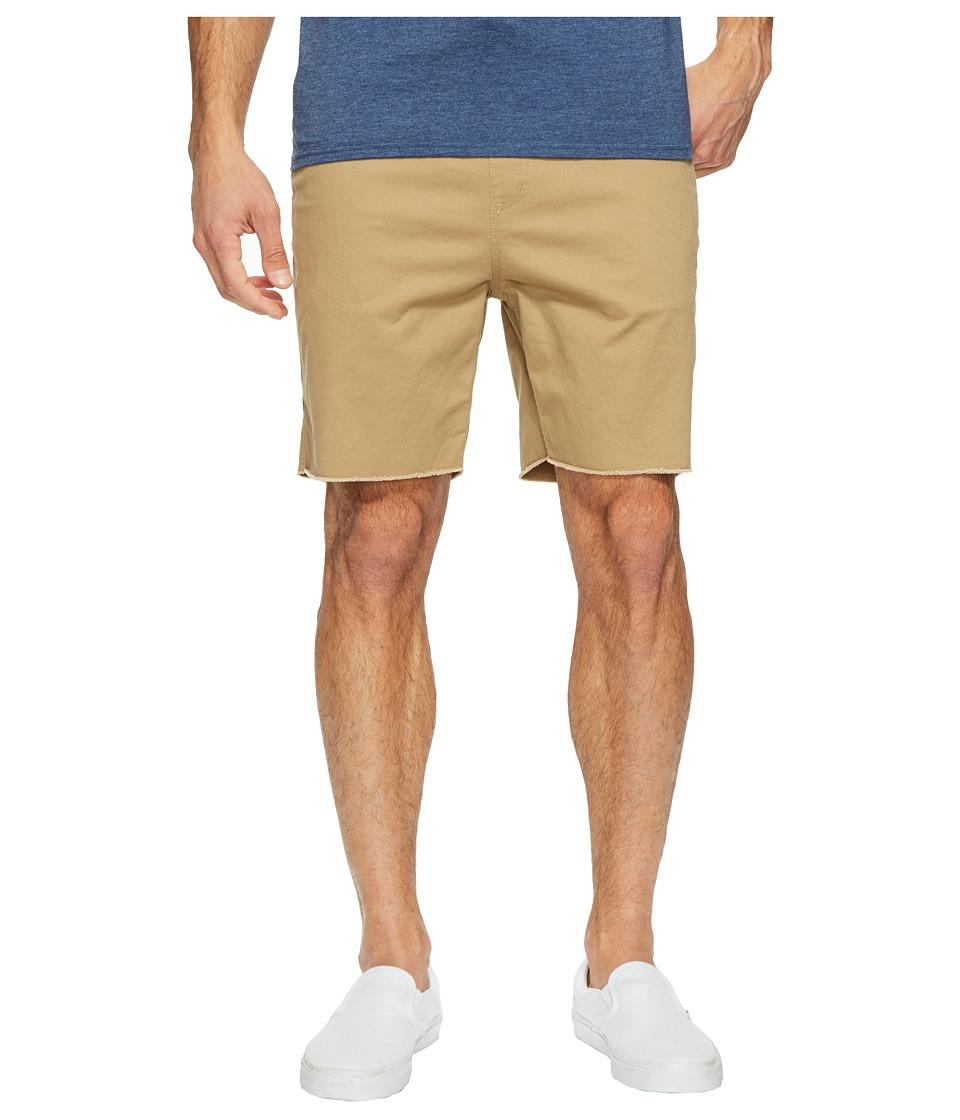 Brixton - Madrid Short (Khaki) Men's Shorts
