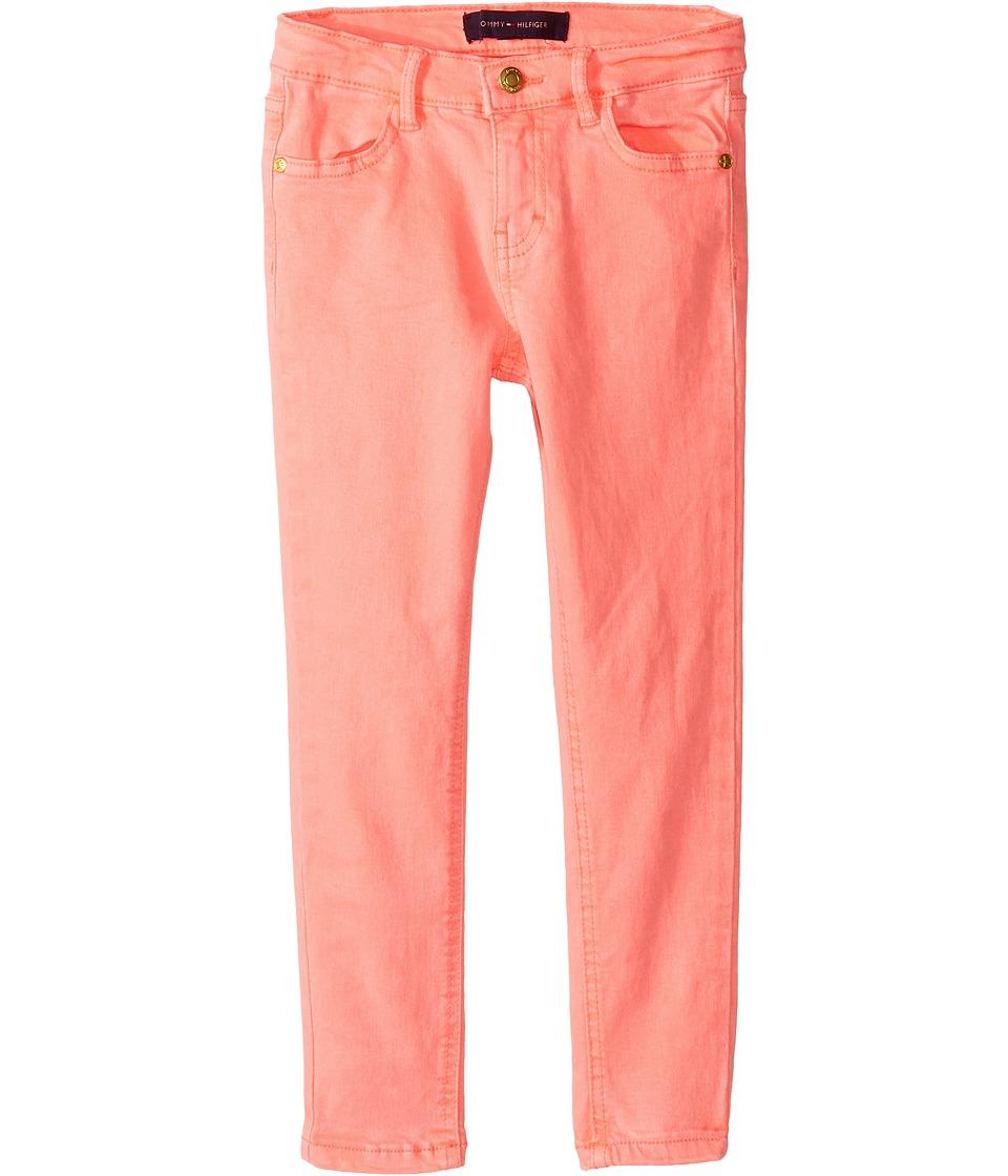 Tommy Hilfiger Kids - Classic Jeggings (Little Kids) (Jolt Pink Neon) Girl's Casual Pants