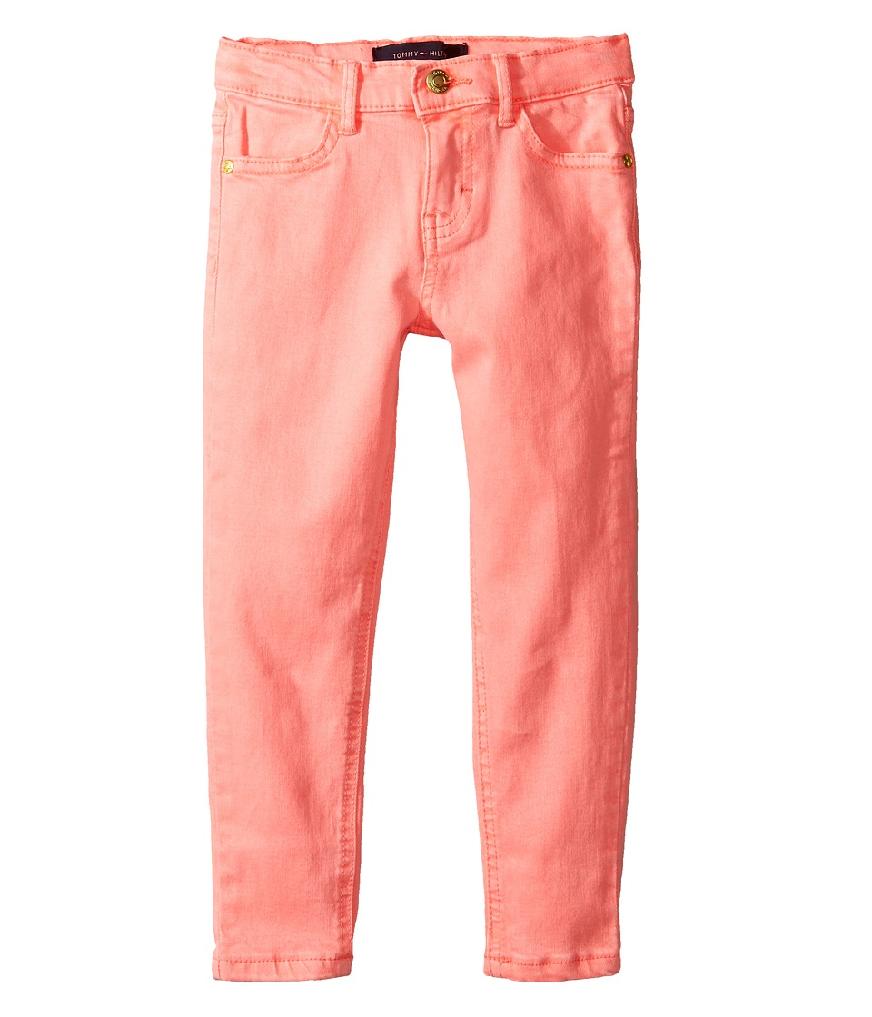 Tommy Hilfiger Kids - Classic Jeggings (Toddler) (Jolt Pink Neon) Girl's Casual Pants