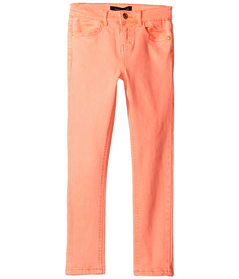 Tommy Hilfiger Kids - Classic Jeggings (Little Kids/Big Kids) (Jolt Pink Neon) Girl's Casual Pants