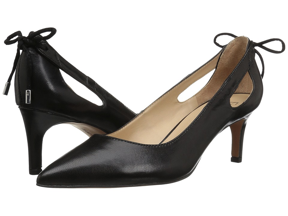 Franco Sarto - Doe (Black Leather) Women's Shoes