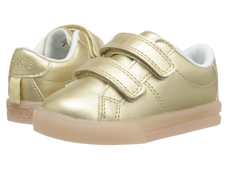 Carters - Edith-C Light-Up Sneaker (Toddler/Little Kid) (Gold) Girl's Shoes