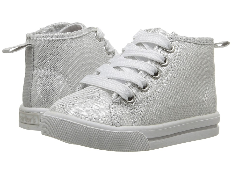 Carters - Ginger (Toddler/Little Kid) (Silver) Girl's Shoes