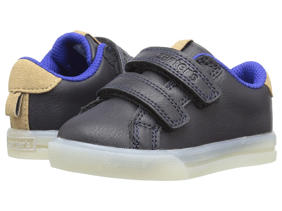 Carters - Jacob Light-Up Sneaker (Toddler/Little Kid) (Navy) Boy's Shoes