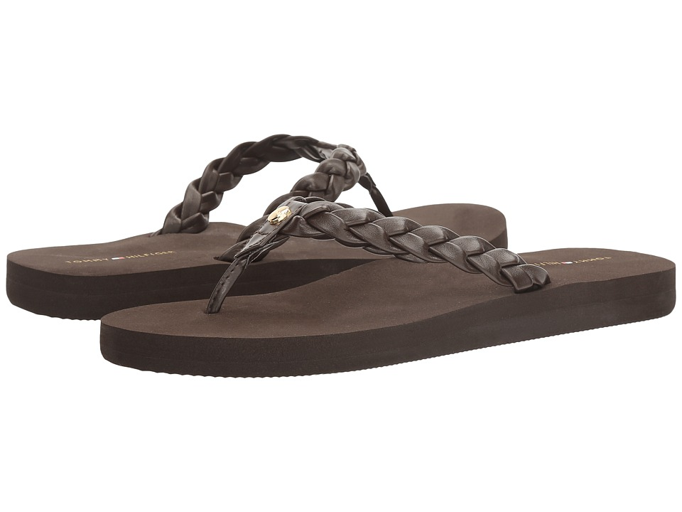 Tommy Hilfiger - Jidney (Brown) Women's Shoes