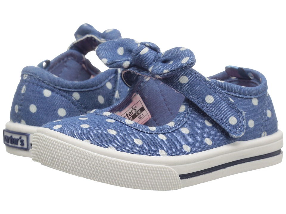 Carters - Spice (Toddler/Little Kid) (Blue) Girl's Shoes