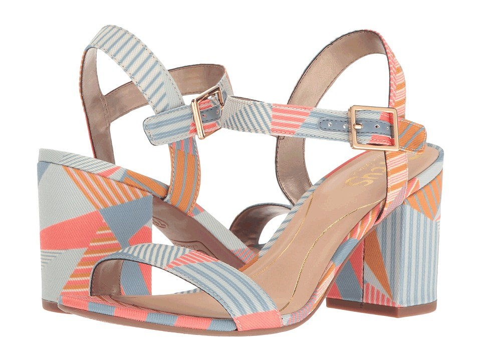 Circus by Sam Edelman Ashton (Peach Multi Crazy Stripes Print) Women